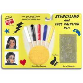 FACE PAINTING STENCIL SET (BAGGED)