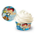 JAKE NEVER LAND PIRATES BAKING CUPS 50/P