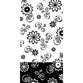 COSMIC FLOWERS GUEST TOWEL