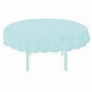 LT BLUE 82 IN. ROUND PAPER TABLECOVER