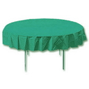 TEAL 82 IN. OCTY ROUND PAPER TABLECOVER