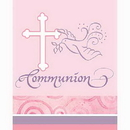 FAITHFUL PINK COMMUNION INVITATION