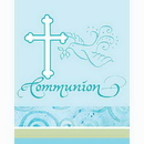 FAITHFUL BLUE COMMUNION INVITATION