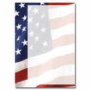 OLD GLORY IMPRINTABLE FLAT CARD