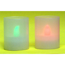 FLAMELESS VOTIVE NITE-LITES RED OR GREEN