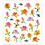 ROSES & BUTTERFLIES SHINY  STICKERS