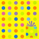 BIRTHDAY FUN DOTS BEVERAGE NAPKIN