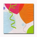 CELEBRATION BALLOONS BEVERAGE NAPKIN