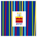 SHINE CELEBRATE BEVERAGE NAPKIN