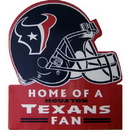 HOUSTON TEXANS LAWN SIGN