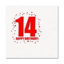14TH BIRTHDAY LUNCHEON NAPKIN 16-PKG