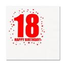 18TH BIRTHDAY LUNCHEON NAPKIN 16-PKG