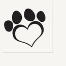 DOG LOVE LUNCHEON NAPKIN(16/PKG)
