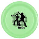 DISCO BOOGIE DINNER PLATE 8/PKG