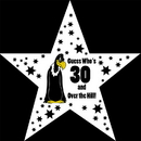 Partypro TQP-1576 Over The Hill 30 Buzzard Star Decoration