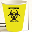 ZOMBIE BIOHAZARD HOT-COLD CUP