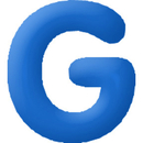 INFLATABLE LETTERS BLUE G