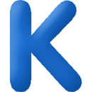 INFLATABLE LETTERS BLUE K