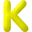 INFLATABLE LETTERS YELLOW K