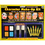 DELUXE FACE PAINTING KIT ORG/WH/BLU/GLD