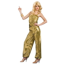 SOLID GOLD DIVA ADULT COSTUME