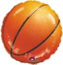 BASKETBALL MYLAR BALLOON (18IN.)