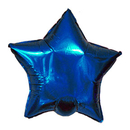 BLUE STAR MYLAR BALLOON