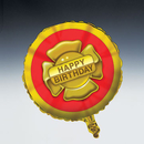 FIREFIGHTER MYLAR BALLOON