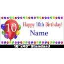 Partypro BANNER-10BLAST 10Th Birthday Balloon Blast Name Banner