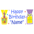PERSONALIZED FIRST WISH BOY BANNER