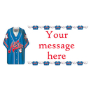 PERSONALIZED BASEBALL SHIRT BANNER