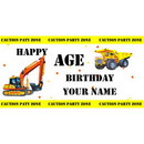 PERSONALIZED CONSTRUCTION BANNER