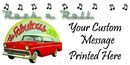 PERSONALIZED ROCK N ROLL BANNER 18X36 IN