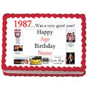 Partypro EDIBLE-1987 1987 Personalized Icing Art