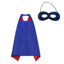 Muka Boys & Girls Superhero Satin Capes with Felt Masks, 35.5