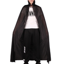 TopTie Black Cloak Role Cape Halloween Party Costume Cape for Kid & Adult