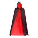 TopTie Full Length Hooded Cloak Cape Halloween Party Costume Accessory
