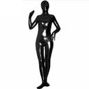 Muka Zentai Supersuit Halloween Costume Shiny Metallic Full BodySuit Dancewear