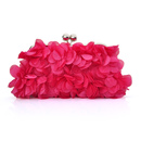 TopTie Petal Clutch Charming Floral Evening Bag Wedding Bag