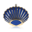 TopTie Cute Shell Shape Bling Evening Clutch Party Hand Case