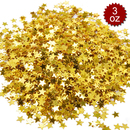 "Aspire 6 Packs Star Party Confetti, Table Confetti, 3oz, 0.25"", Stars Sequin Decoration for Party, Props, Wedding, Birthday"