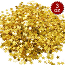 Aspire 6 Packs 6000pcs Star Party Confetti, Metallic Table Confetti, 3oz, Premium Decoration