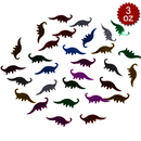 Aspire 6 Packs Party Confetti, Dinosaur Table Confetti, 3oz, Glitter Colorful Decoration for DIY Crafts, Props, Party