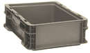 Quantum RSO1215-5 Stackers - Heavy Duty Straight Wall Stacking Containers (Outside Dimensions: 12