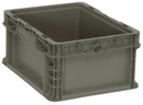 Quantum RSO1215-7 Stackers - Heavy Duty Straight Wall Stacking Containers (Outside Dimensions: 12