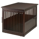 Richell End Table Dog Crate - Large