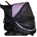 Pet Gear PG8100NZWC Weather Cover For No-Zip Happy Trails Pet Stroller - Black