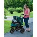 Pet Gear PG8350NZFG AT3 No-Zip Pet Stroller - Forest Green