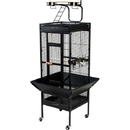 Prevue Hendryx PP-3152BLK Medium Wrought Iron Select Bird Cage