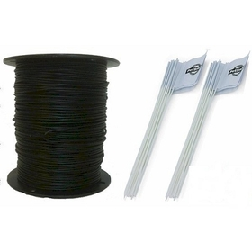 PetSafe RFA-1000 Heavy Duty Pet Fence Wire and Flag Kit 1000 Feet